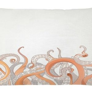 Pillow Case Octopus Tentacles Cover No Insert